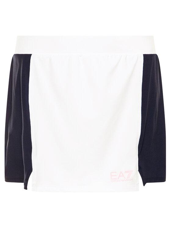 EA7 Emporio Armani EA7 Emporio Armani spodnica_funcyjna 3HTN51 TJ33Z 21BE Balta Slim Fit