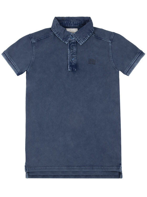 Pepe Jeans Pepe Jeans Polo Philippe PB540571 Granatowy Regular Fit