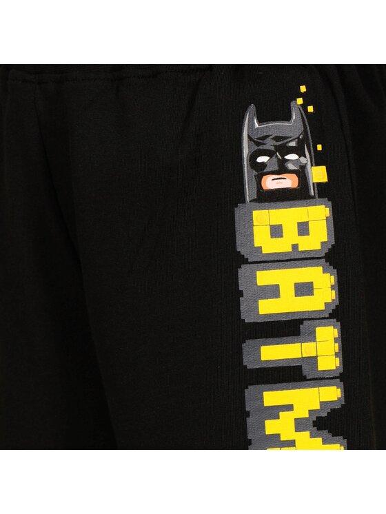 LEGO Wear LEGO Wear Σορτς υφασμάτινο Batman 22554 995 Μαύρο Regular Fit