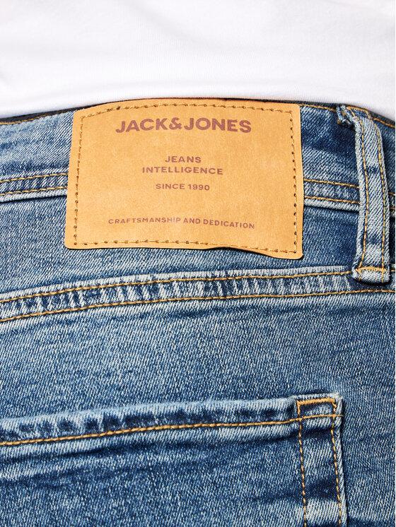 Jack&Jones Jack&Jones Jeansy Tom 12188583 Niebieski Skinny Fit