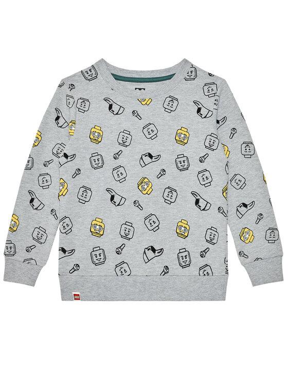 LEGO Wear Džemperis 12010047 Pilka Regular Fit