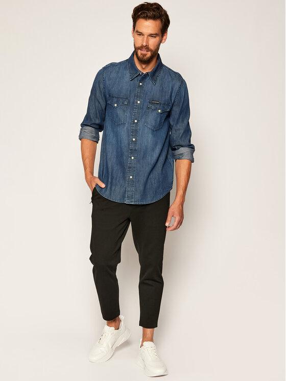 Calvin Klein Jeans Calvin Klein Jeans Hemd Western J30J314392 Dunkelblau Regular Fit