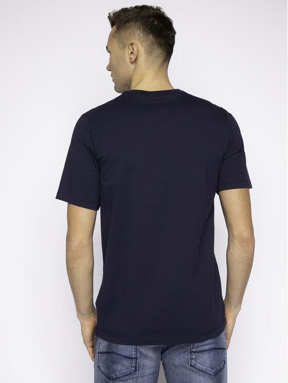 NIKE NIKE T-Shirt Heritage BV7678 Tmavomodrá Standard Fit