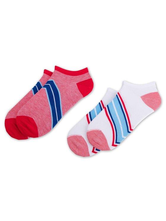 Tommy Hilfiger Tommy Hilfiger Sada 2 párů dámských nízkých ponožek 393004001 Červená