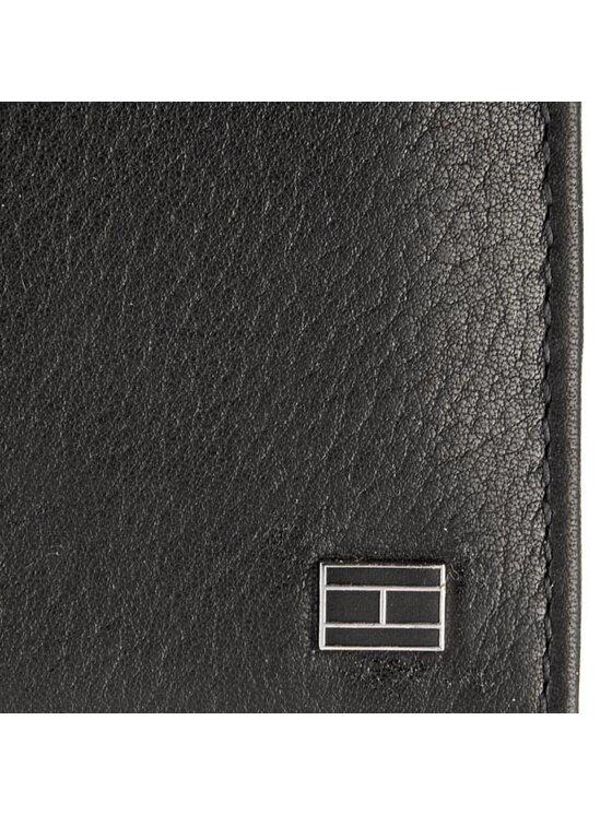 Tommy Hilfiger Tommy Hilfiger Голям мъжки портфейл Paolo N/S Tote wallet W/ Coin Pocket BM56927562 Черен