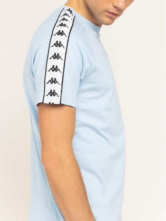 Kappa Kappa Tricou Finley 306013 Albastru Regular Fit