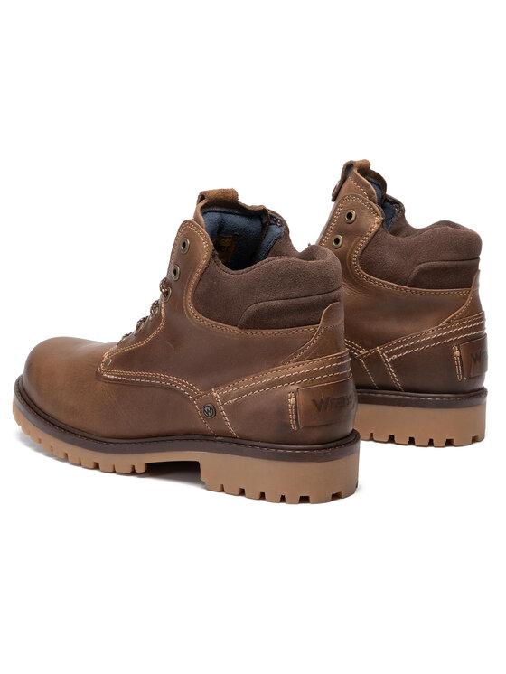 Wrangler Wrangler Outdoorová obuv Yuma WM92000A Hnedá