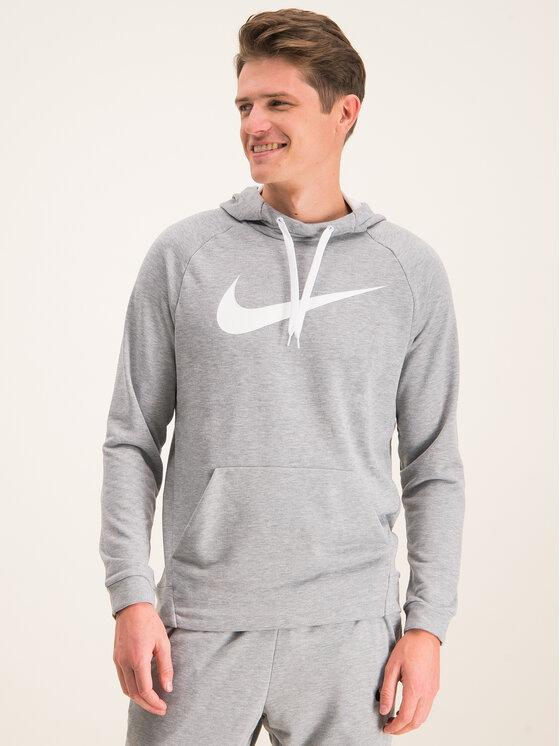 Nike Nike Sweatshirt Dry Hoodie 885818 Grau Standard Fit