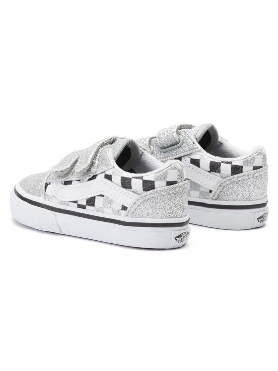 Vans Vans Sneakers aus Stoff Old Skool V VN0A38JNV3J1 Silberfarben