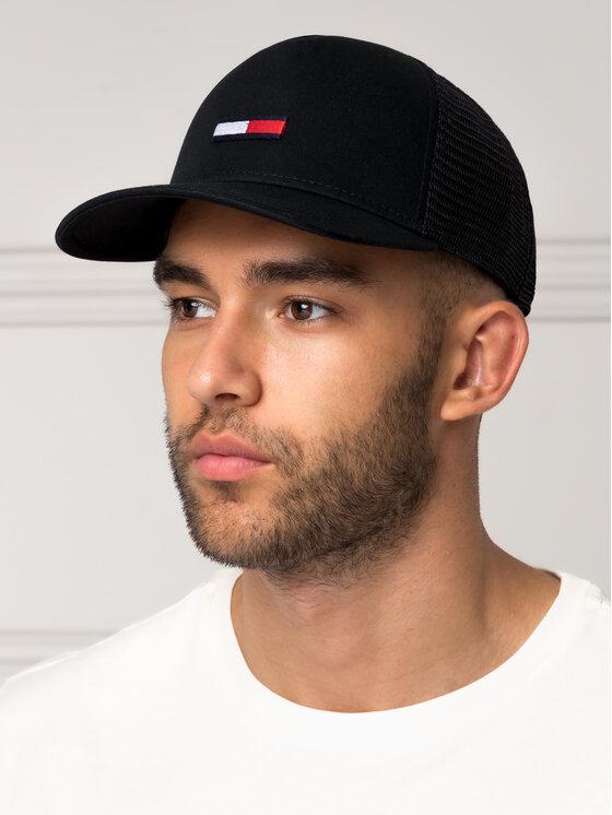 Tommy Jeans Tommy Jeans Καπέλο Jockey Tjm Trucker Flag Cap AM0AM04920 Μαύρο