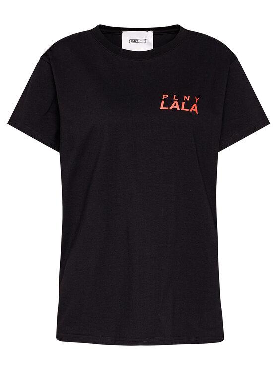 PLNY LALA PLNY LALA T-Shirt Prima PL-KO-CL-00142 Czarny Classic Fit