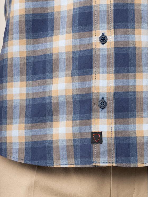 Strellson Strellson Camicia Cobe2 30018833 Blu scuro Slim Fit