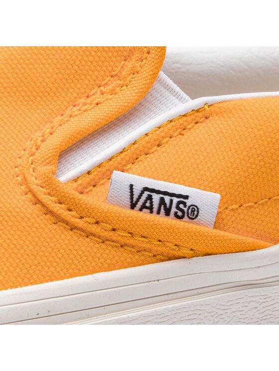 Vans Vans Scarpe sportive Classic Slip-On 1 VN0A3TKBUVF1 Giallo