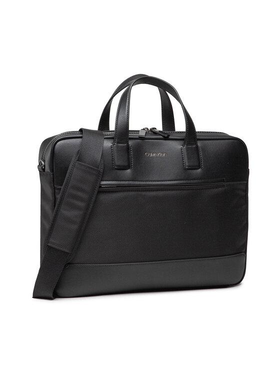 Calvin Klein Calvin Klein Torba na laptopa Laptop Bag W/Pckt K50K506974 Czarny