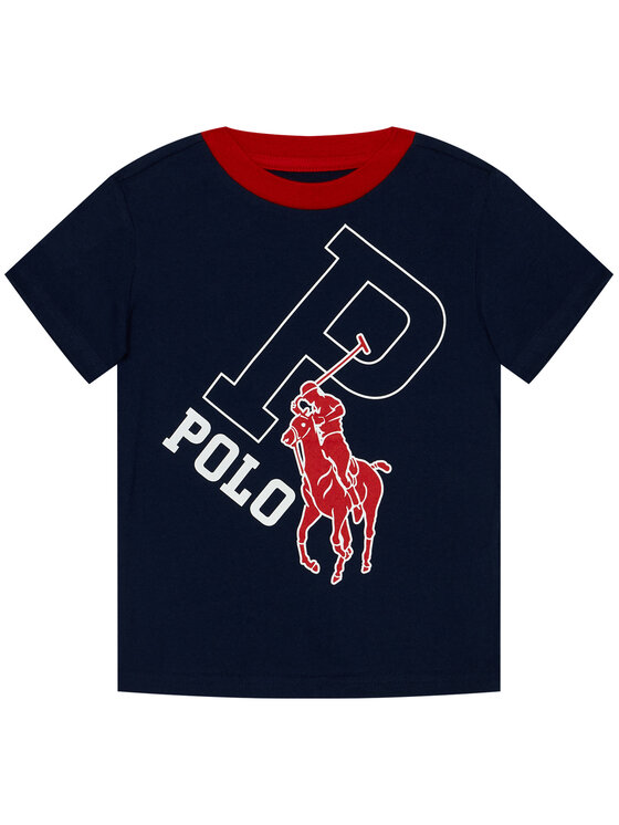 Polo Ralph Lauren Polo Ralph Lauren T-Shirt Ss Cn 323793536001 Tmavomodrá Regular Fit