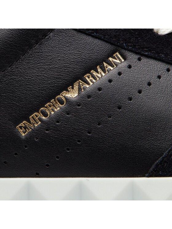 Emporio Armani Emporio Armani Sneakersy X4X254 XL694 A083 Černá