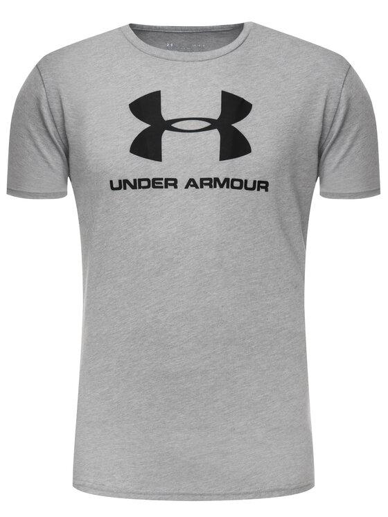 Under Armour Under Armour Тишърт Ua Sportstyle Logo 1329590 Сив Regular Fit