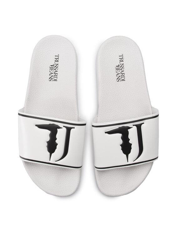 Trussardi Trussardi Jeans Klapki 77A00159 Biały