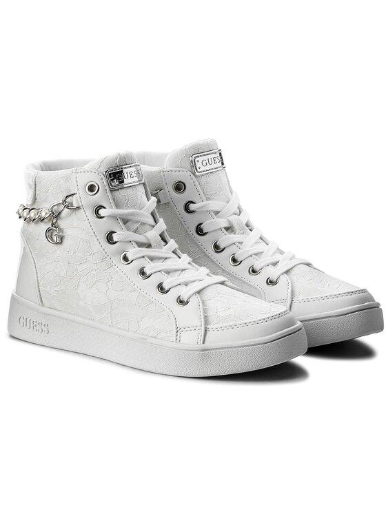 Guess Guess Sneakersy Bradie2 FLBD21 LAC12 Biela