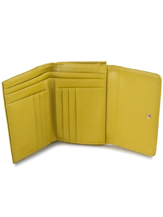 Liu Jo Liu Jo Duży Portfel Damski Portafoglio C/Patta A66127 E0086 Żółty