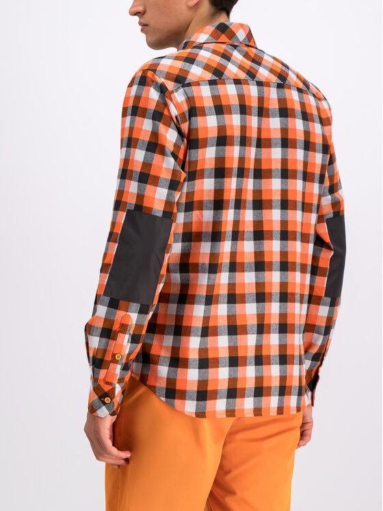 Helly Hansen Helly Hansen Hemd Lokka LS Shirt 62852 Orange Regular Fit