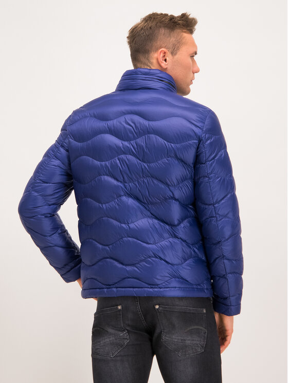 Blauer Blauer Giubbotto piumino Dixon Shiny Wave Down 19WBLUC03057 004719 Blu scuro Regular Fit
