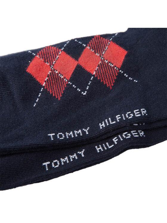 Tommy Hilfiger Tommy Hilfiger Zestaw 2 par niskich skarpet damskich 333011001 563 Midnight Blue Kolorowy