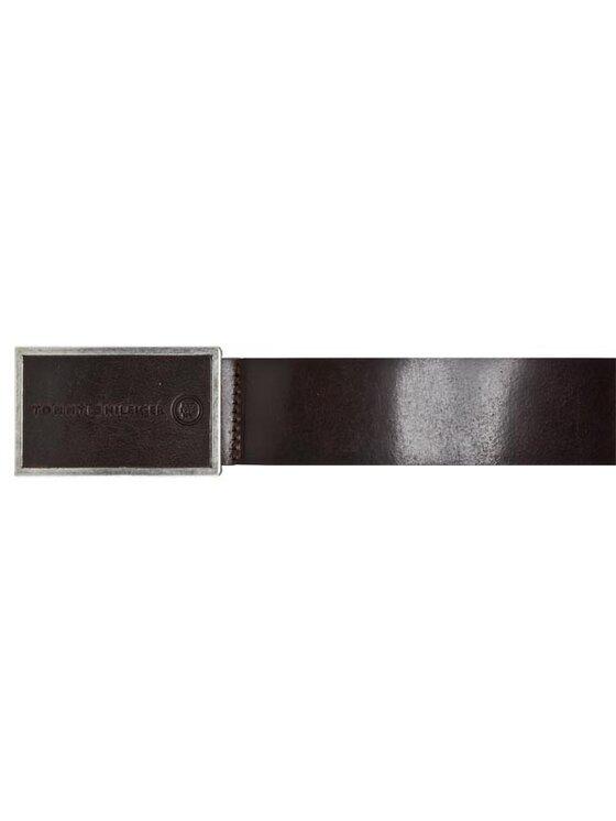 Tommy Hilfiger Tommy Hilfiger Мъжки колан Bobby Plaque Belt BM56920749 201 Кафяв