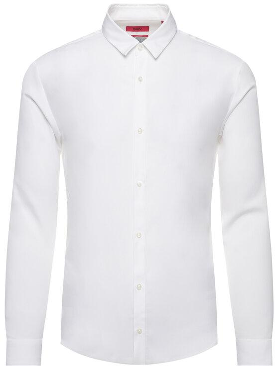 Hugo Hugo Hemd Ero3-W 50421143 Weiß Extra Slim Fit