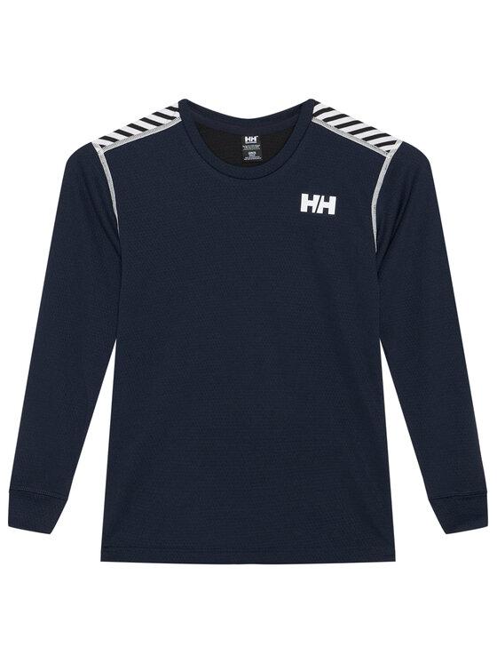 Helly Hansen Helly Hansen Komplet bielizny termoaktywnej Jr Hh Lifa Active 48647 Granatowy Relaxed Fit