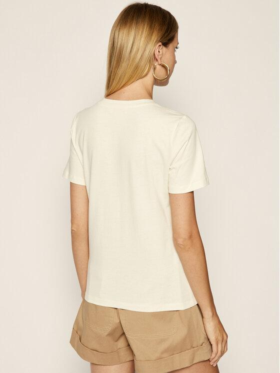 Tory Burch Tory Burch T-Shirt 56528 Béžová Regular Fit