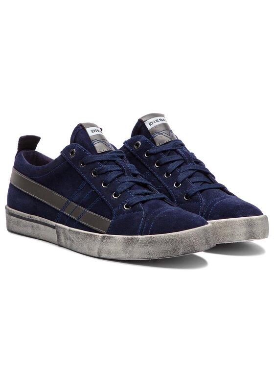 Diesel Diesel Laisvalaikio batai D-Velows Low Lace Y01755 P1834 T6062 Tamsiai mėlyna