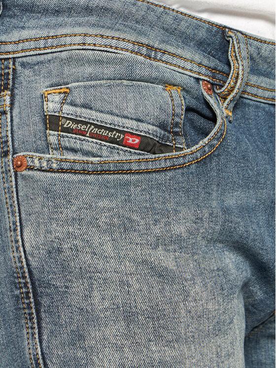 Diesel Diesel Jeansy Skinny Fit Sleenker 00SWJF 069LI Niebieski Skinny Fit