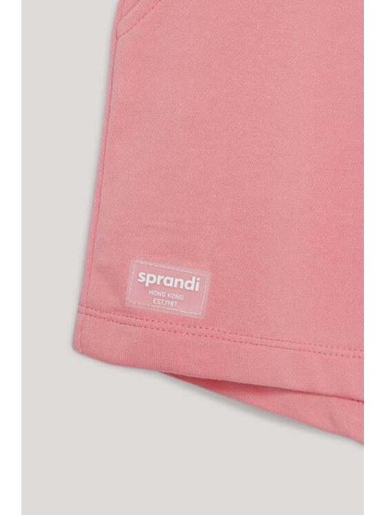 Sprandi Sprandi Szorty sportowe SS21-SHG002 Różowy Regular Fit