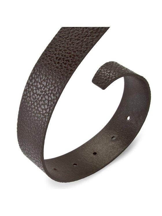 Trussardi Trussardi Jeans Cintura da uomo Passante Logo 71C00560 90 Marrone