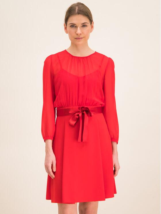 iBlues Kasdieninė suknelė 72263096 Juoda Regular Fit