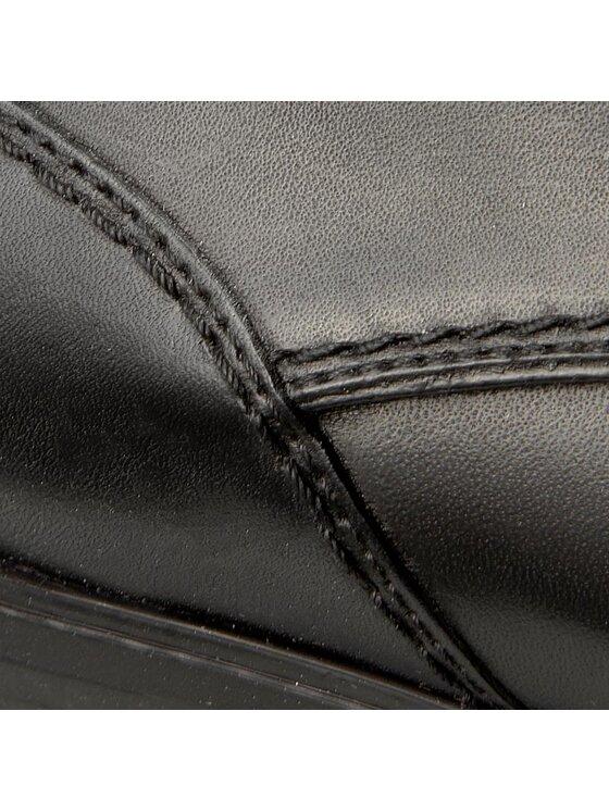Geox Geox Κλειστά παπούτσια U New Life B U72P4B 00043 C9999 Μαύρο