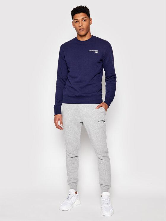 New Balance New Balance Spodnie dresowe C C F Pant MP0390 Szary Athletic Fit