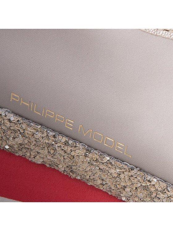 Philippe Model Philippe Model Laisvalaikio batai Bright CHLD MG14 Auksinė