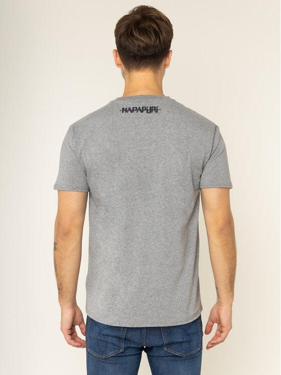 Napapijri Napapijri T-Shirt Unisex Solt SS Šedá Regular Fit