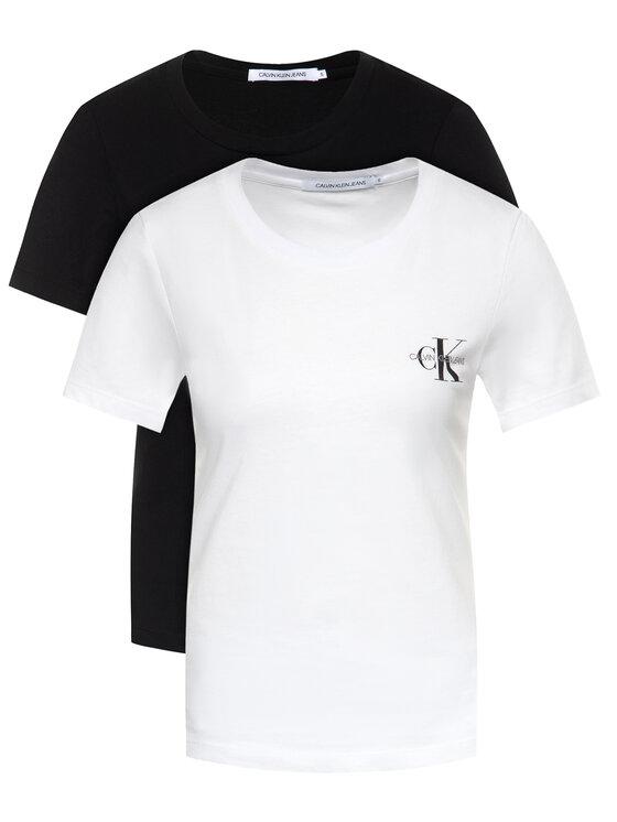 Calvin Klein Jeans 2 marškinėlių komplektas Lot De J20J214364 Spalvota Slim Fit