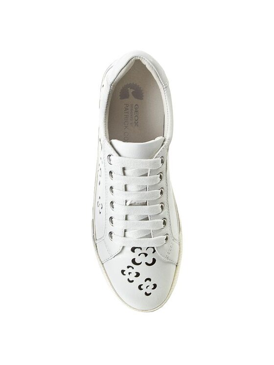 Geox Geox Chaussures basses D Prudenc A D5207A 000TU C0404 Blanc