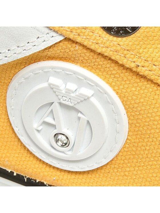 Armani Jeans Armani Jeans Tenisówki V5504 32 39 Żółty