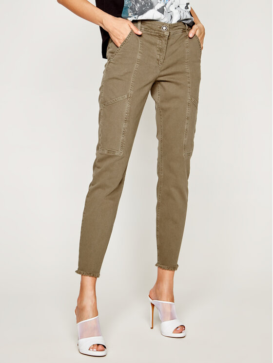 Laurèl jeansy_skinny_fit Jacky Cargo 81019 Žalia Skinny Fit