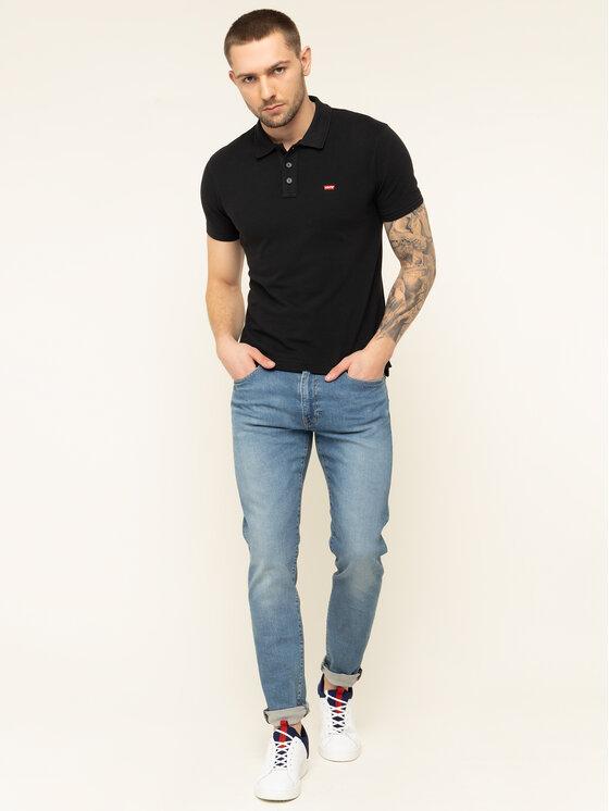 Levi's® Levi's Polo marškinėliai Housemark 22401-0080 Juoda Regular Fit