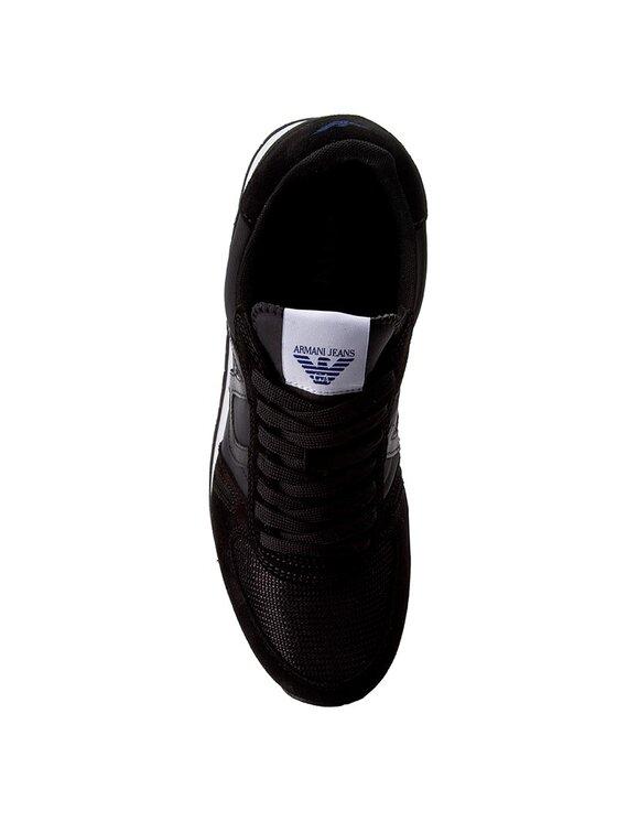 Armani Jeans Armani Jeans Laisvalaikio batai 935027 7A420 00020 Juoda