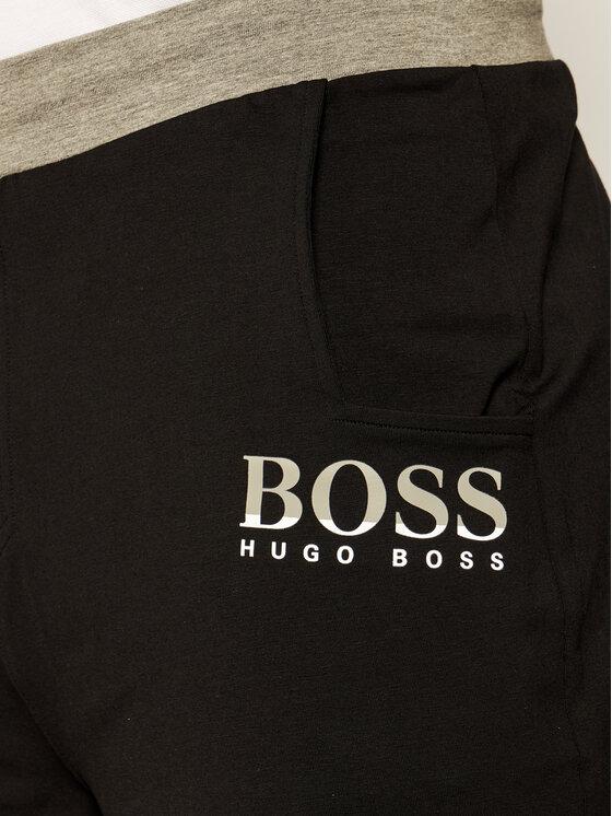 Boss Boss Medžiaginiai šortai Trend 50425668 Juoda Regular Fit