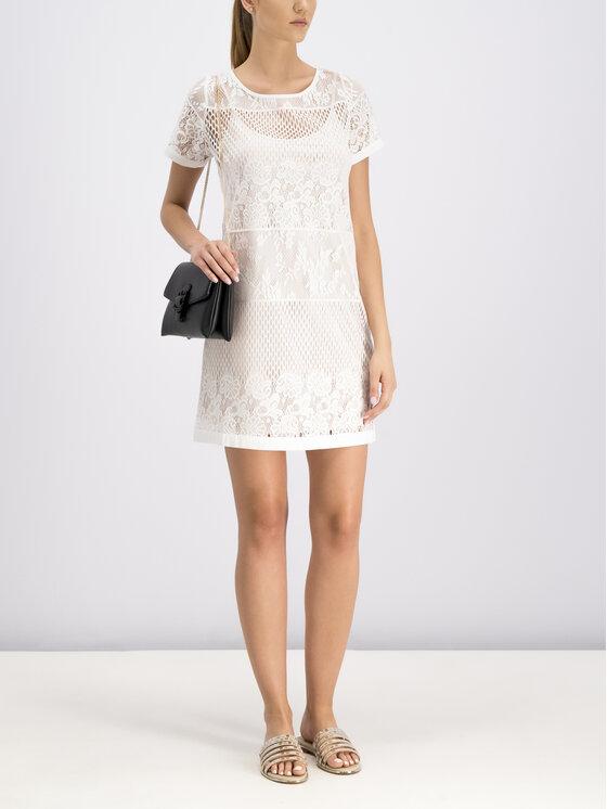 Liu Jo Beachwear Liu Jo Beachwear Letní šaty V19043 J5658 Bílá Regular Fit