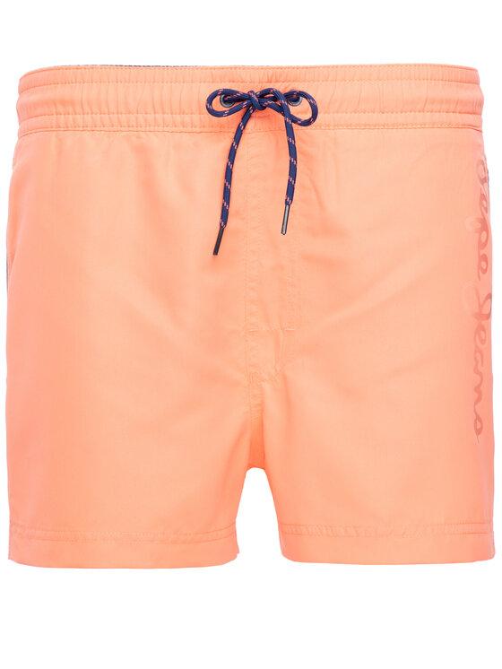 Pepe Jeans Pepe Jeans Plavecké šortky Navia PMB10205 Oranžová Regular Fit