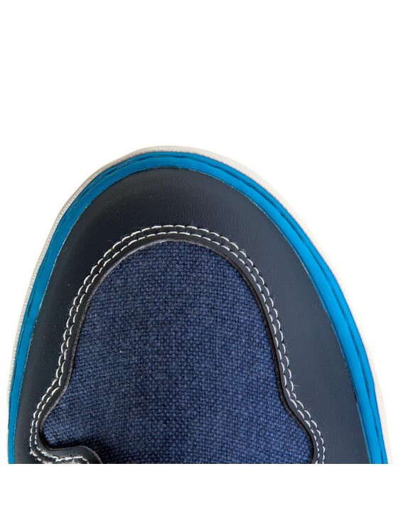 Geox Geox Félcipő J Kiwi B.F J42A7F 01054 C4231 Kék